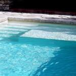 a piscine et sa pataugeoire