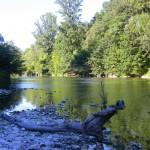 la rivière Cèze