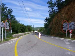 sortie de la route de Rochegude(1)