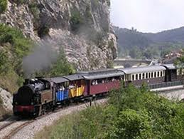 the little train to Anduze