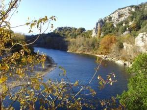 L'Ardèche à Vallon